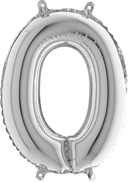 0 Silver Foil Number 26in/66cm