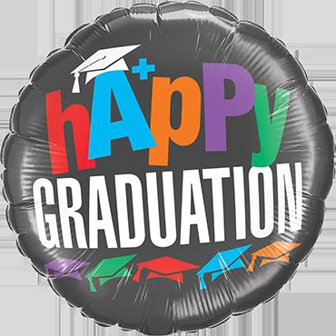A+ Graduation Foil Round 18in/45cm