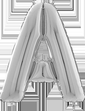 A Silver Foil Letter 26in/66cm