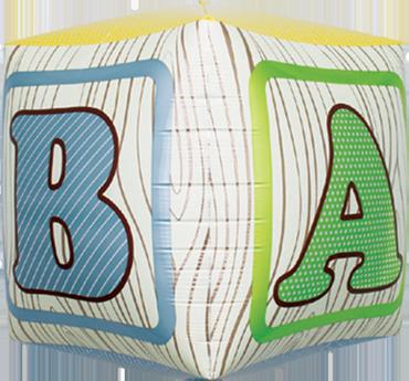 Baby Block Cube 17in/43cm