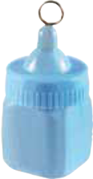 Baby Bottle Weight Pastel Blue 170g