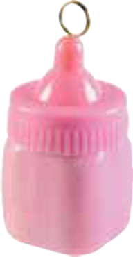 Baby Bottle Weight Pastel Pink 170g