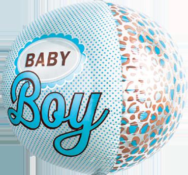 Baby Boy Sphere 17in/43cm