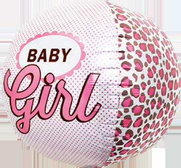 Baby Girl Sphere 17in/43cm