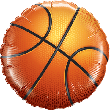 Basketball Foil Round 36in/90cm