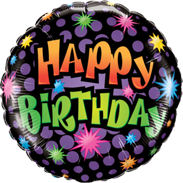 Birthday - You're How Old Foil Round 18in/45cm