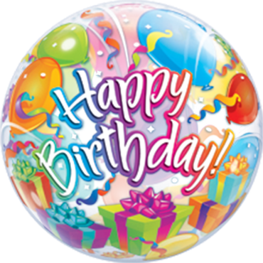 Birthday Surprise Single Bubble 22in/55cm