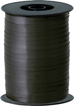 Black Curling Ribbon 5mm x 500m