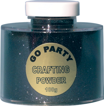 Black Glitter Pot 100g