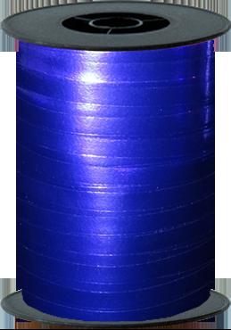 Blue Metallic Curling Ribbon 10mm x 250m