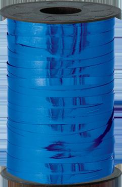 Blue Metallic Curling Ribbon 5mm x 250m
