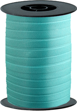 Caribbean Blue Curling Ribbon 10mm x 250mm