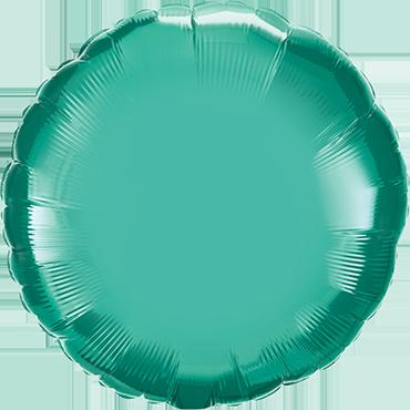 Chrome Green Foil Round 18in/45cm