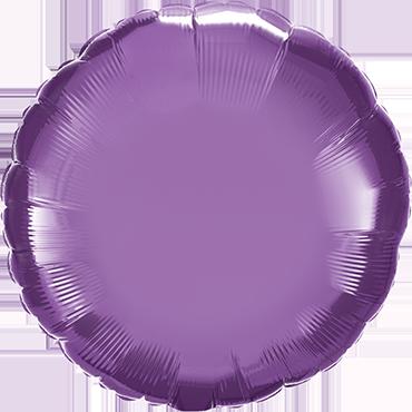 Chrome Purple Foil Round 18in/45cm
