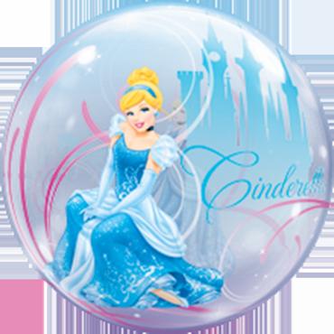 Cinderella Royal Debut Single Bubble 22in/55cm
