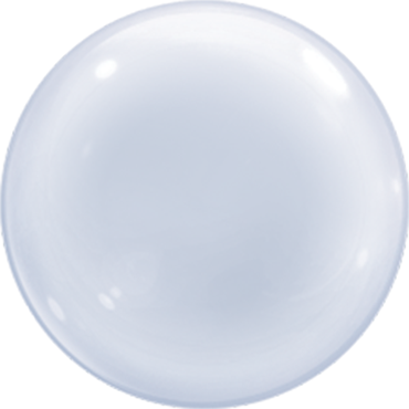 Clear Deco Bubble 20in/50cm