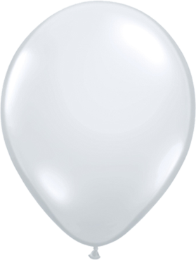 Crystal Diamond Clear (Transparent) Latex Round 11in/27.5cm