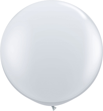 Crystal Diamond Clear (Transparent) Latex Round 36in/90cm