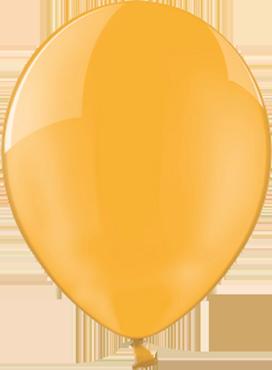 Crystal Orange (Transparent) Latex Round 5in/12.5cm