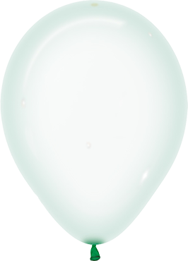 Crystal Pastel Green Latex Round 11in/27.5cm