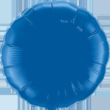 Dark Blue Foil Round 18in/45cm
