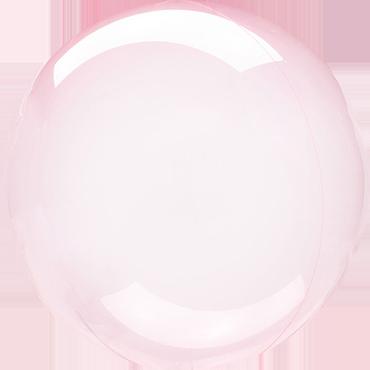 Dark Pink Crystal Clearz Orbz 18in/45cm x 18in/45cm