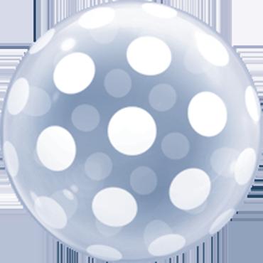 Deco Bubble Big Polka Dots 20in/50cm