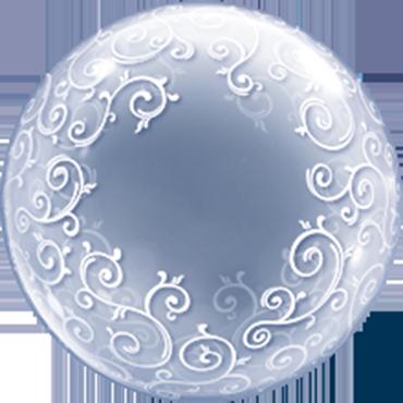 Deco Bubble Fancy Filigree 24in/60cm