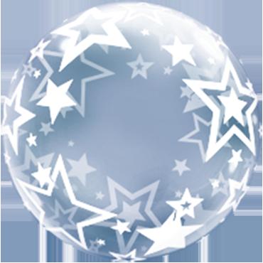 Deco Bubble Stylish Stars 24in/60cm