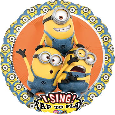 Despicable Me Group Sing A Tune Foil Round 28in/71cm