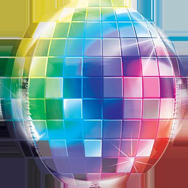 Disco Ball Orbz 15in/38cm x 16in/40cm