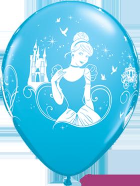 Disney Cinderella Fashion Robins Egg Blue Latex Round 11in/27.5cm