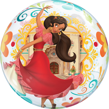 Disney Elena of Avalor Single Bubble 22in/55cm