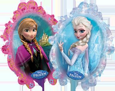 Disney Frozen Foil Shape 25in/63cm x 31in/78cm