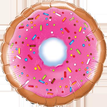 Donut Foil Round 9in/22.5cm