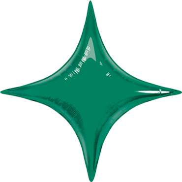 Emerald Green Foil Starpoint 40in/100cm