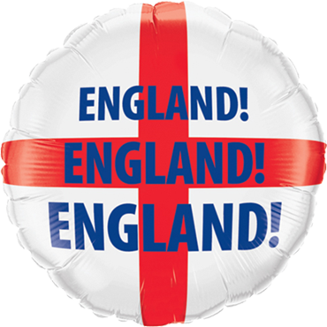 England Foil Round 18in/45cm