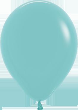 Fashion Aquamarine Latex Round 11in/27.5cm