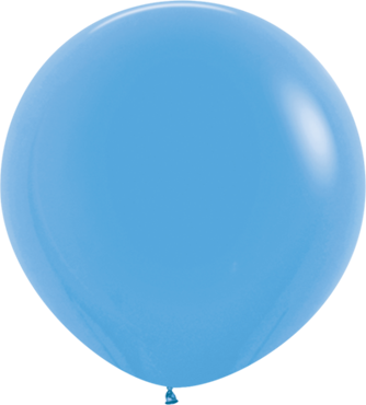 Fashion Blue Latex Round 24in/60cm