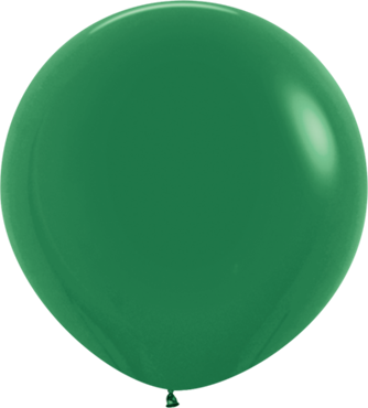 Fashion Forest Green Latex Round 24in/60cm