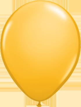 Fashion Goldenrod Latex Round 16in/40cm