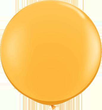 Fashion Goldenrod Latex Round 36in/90cm