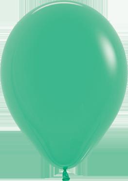 Fashion Green Latex Round 11in/27.5cm