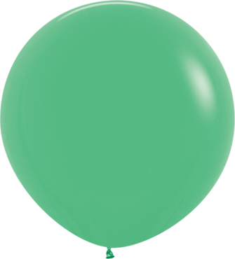 Fashion Green Latex Round 24in/60cm