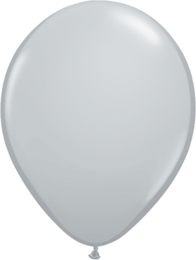 Fashion Grey Latex Round 11in/27.5cm