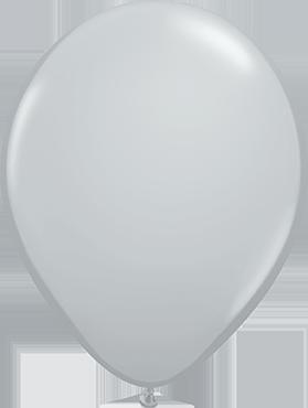 Fashion Grey Latex Round 16in/40cm
