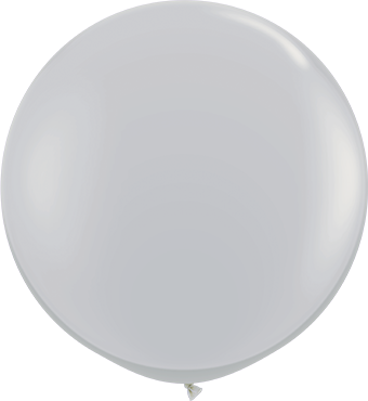 Fashion Grey Latex Round 36in/90cm
