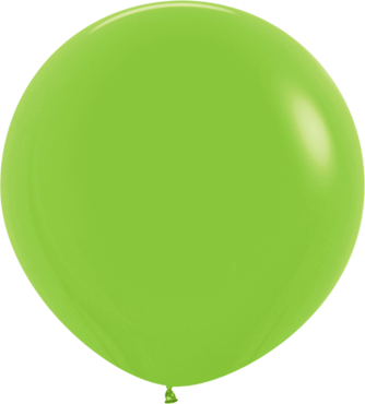 Fashion Lime Green Latex Round 24in/60cm