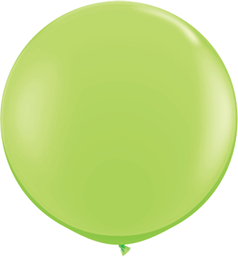 Fashion Lime Green Latex Round 36in/90cm