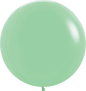 Fashion Mint Green Latex Round 24in/60cm